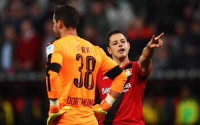 Su anotación ayudó al Leverkusen a vencer al Dortmund