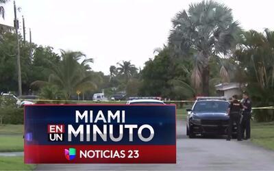 'Miami en un Minuto': un herido tras invasión a mano armada en una casa...