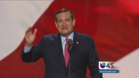 La explicación que dio Ted Cruz sobre su decisión de apoyar al Donald Trump