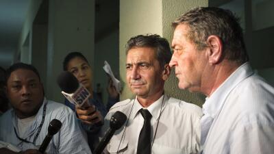Pascal Fauret y Bruno Odos