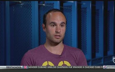 """Landon Donovan: """"Tuve que aprender español para poder jugar fútbol, mi e..."""