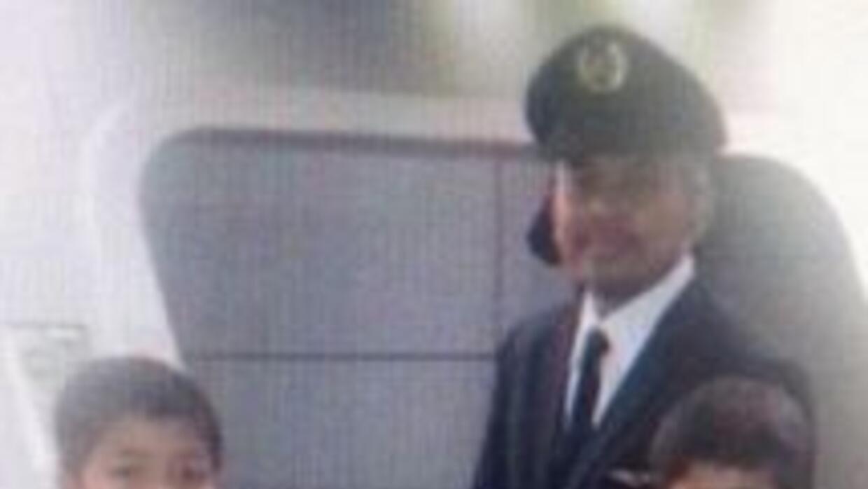 El capitán del MH17 Wan Amran Wan Hussin. Fotografía tomada de Twitter.