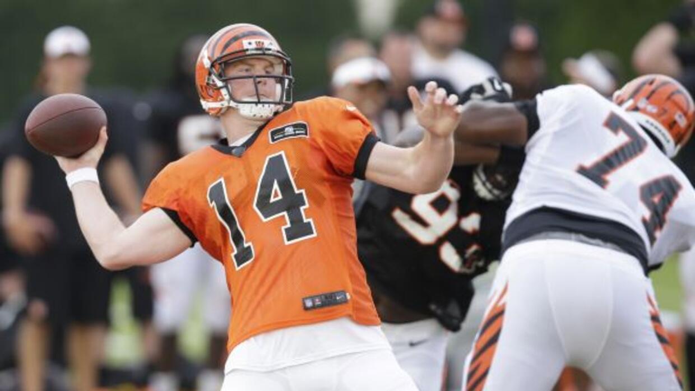 El quarterback llegó a un acuerdo con los Bengals (AP-NFL).