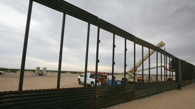 El presupuesto para construir el muro, la principal discrepancia entre e...
