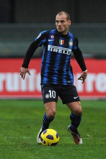 Mediocampista por derecha: Wesley Sneijder (Holanda/Inter de Milán).