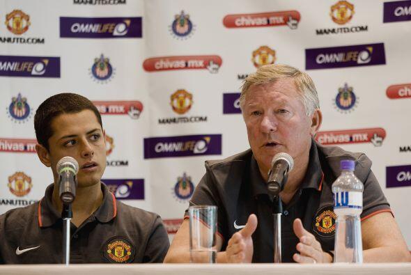 Alex Ferguson, DT del 'Man-U', declaraba que 'la contratación de...