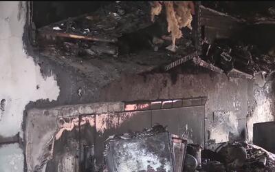 Evacúan por incendio la unidad 14 del complejo de apartamentos 11G1 East...