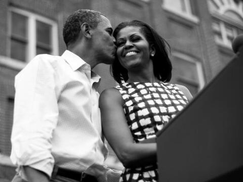 La Casa Blanca no anunció ningún acto oficial este viernes...