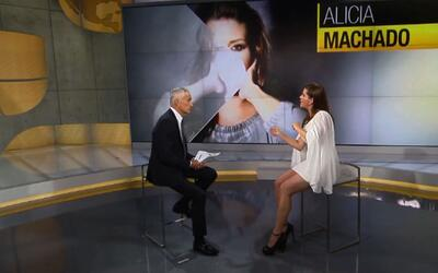 Alicia Machado tells Univision's Jorge Ramos how Trump humiliated her