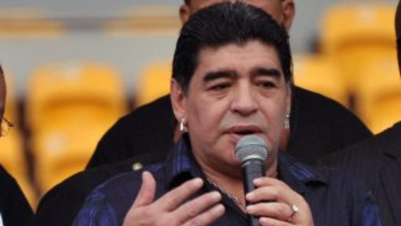 Maradona no se olvió del Balón de Oro que recibió Cristiano Ronaldo ni t...