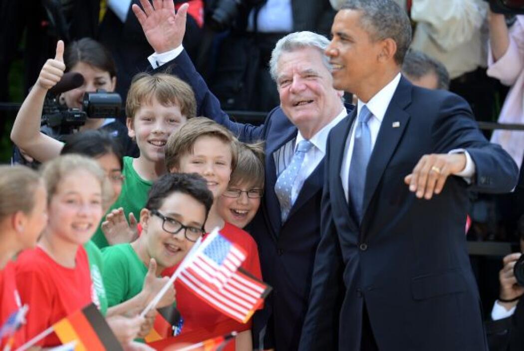 Obama ejerce fascinación sobre muchos alemanes y de ahí el amplio seguim...