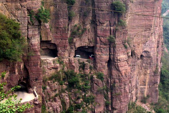 Guoliang Tunnel Road, China  (Foto: Blog-O-Rama)