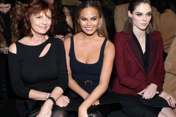 ¿No les parece que la modelo Coco Rocha se veía demasiado...