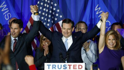 Cruz: Gracias a Wisconsin estoy convencido que voy a ganar los 1,237 del...