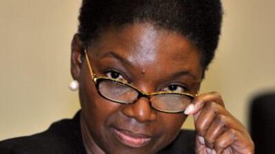 La responsable de Asuntos Humanitarios de la ONU, Valerie Amos.