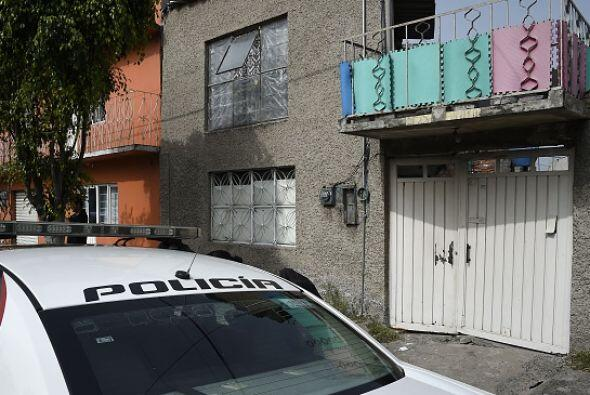 Durante la mañana la vivienda permanecía custodiada por un vehículo de l...