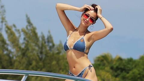 Súper modelos de vacaciones con las Jenner