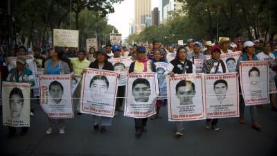 La marcha fue detenida antes de llegar a la presidencia