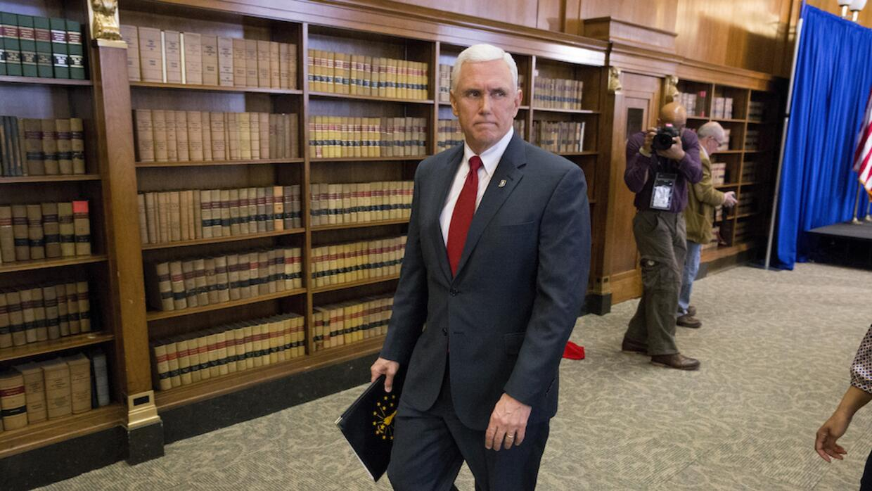 Mike Pence, gobernador de Indiana