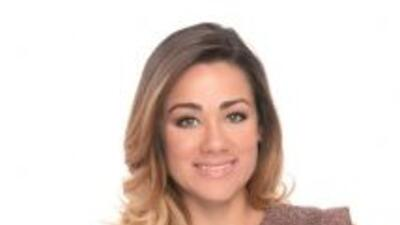 La presentadora de Univision 23 Gloria Ordaz