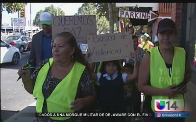 Piden un alto a la violencia en San José