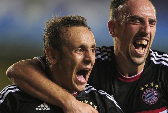 Toni Kroos y Márcio Ferreira de Souza anotaron para el conjunto a...