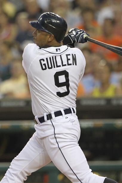 2B. Carlos Guillén. Tigres de Detroit. Guillén bate&oacute...