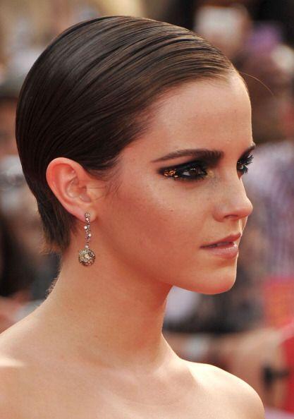 ¡Emma Watson seguramente adoraba estar peinada en cuestión...