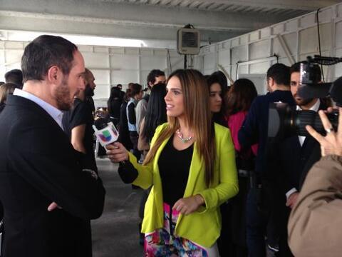Con Josep Font, director creativo de DelPozo
