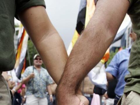 Un año después de la legalización de los matrimonios civiles entre perso...