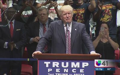 Trump reitera su mensaje anti inmigrante en Texas