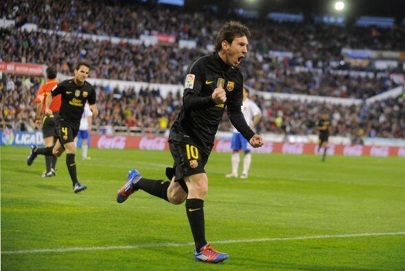 Messi se convirtió en el nuevo goleador del Torneo. Tiene un tanto más q...