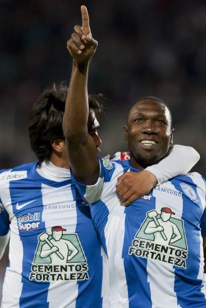 Jugó los 90 minutos, anotó su gol al 53', no recibi&oacute...