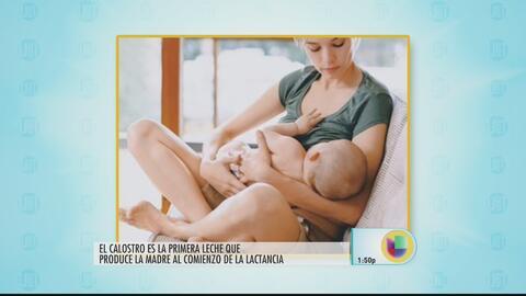 La primera 'vacuna natural' que reciben los bebés