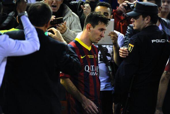 Durante el mes de abril Messi ha perdido su chispa. Su desempeño en el c...