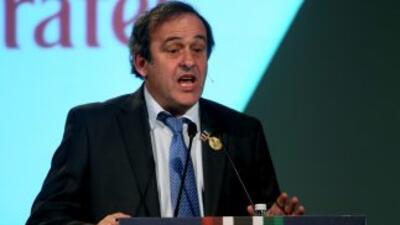 El poder que Platini ha adquirido al frente de UEFA le sigue teniendo co...