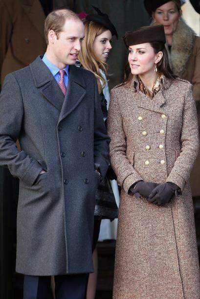 Cada año y en día de Navidad, la familia británica real acostumbra acudi...