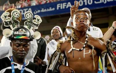 La fiesta en las tribunas del Mundial de Clubes