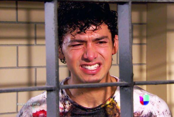 ¡Ayyy Lucas! Ahora que estás en la cárcel te das cuenta que cometiste un...