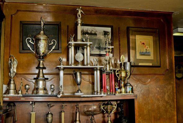 Aquí algunos trofeos obtenidos por el Heroico Cuerpo de Bomberos del DF.
