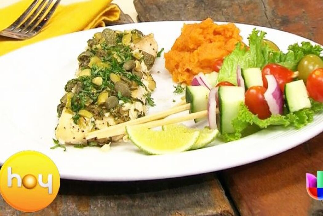Pescado empapelado con alcaparras del chef Oropeza  Si te gusta la comid...