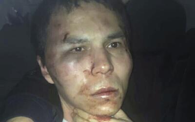 Abdulgadir Masharipov, el autor confeso del atentado de Año Nuevo...