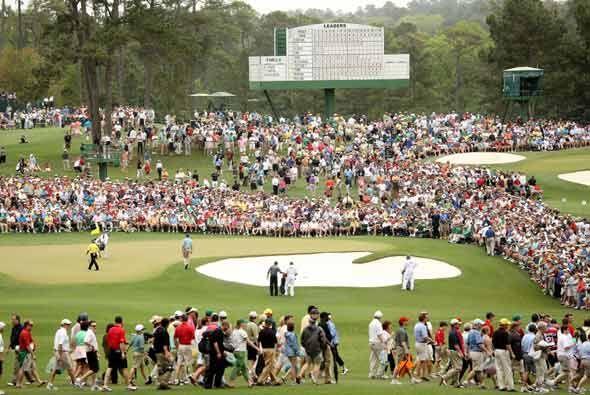 La expectación por el regreso del #1 del golf era evidente en el Augusta...