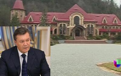 Ex presidente de Ucrania Viktor Yanukovich llevaba una vida de lujos