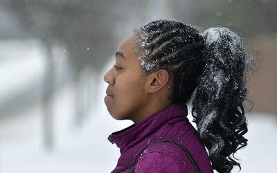 Tormenta de nieve se debilita en su avance hacia noreste de EEUU AP_1700...