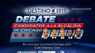 No se pierda el debate que realizará Univision Chicago junto con ABC Chi...