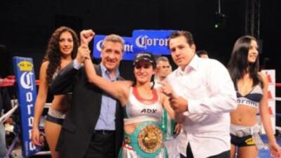 La 'Joya' por fin conquistó el título mundial minimosca (Foto: Boxeo de...