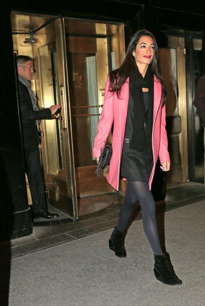 El actor fue visto en Nueva York en compañía de su nueva novia.Mira aquí...