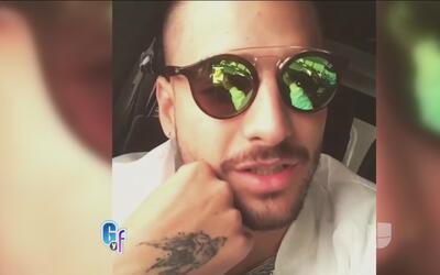 Maluma publicó un video donde le agradece a Ricky Martin la oportunidad...