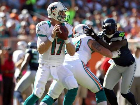 Los Dolphins consiguieron un agónico triunfo ante los Seahawks 24...